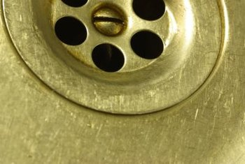 kitchen sink drain stopper pantrys how to remove scratch marks from stainless steel sinks ...