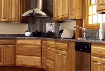 Pros And Cons Of Hickory Kitchen Cabinets Home Guides SF Gate
