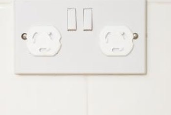 How to Install a Ceramic Tile Backsplash Around Electrical