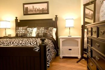 how to arrange living room furniture home decor for walls a full-size bed & dresser in 10' x 10 ...