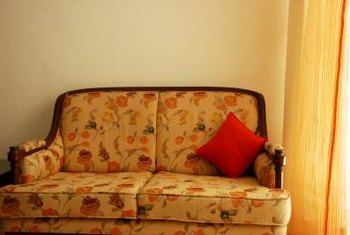 New Upholstery Could Give An Old Couch A Look