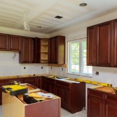 Glazed Kitchen Cabinets How To Clean Tiles Walls Refinishing With Cream Paint Glaze Home Guides