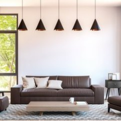 Living Room Design Ideas With Brown Leather Sofa Black Rugs For Decorating Colors That Go Furniture Home Guides