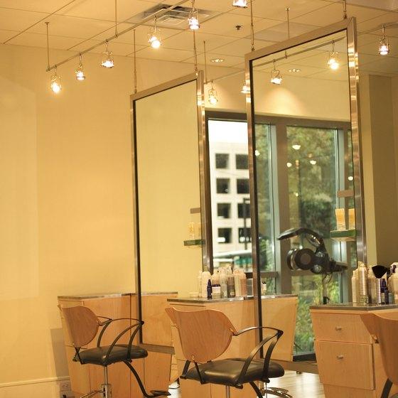 A Modern Clic Beauty Salon Decor