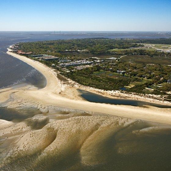 St. Simon's Island offers sandy beaches.
