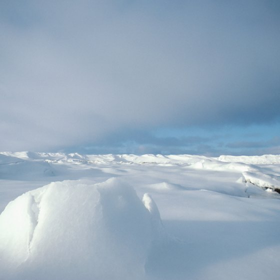 landscapes & landforms in arctic