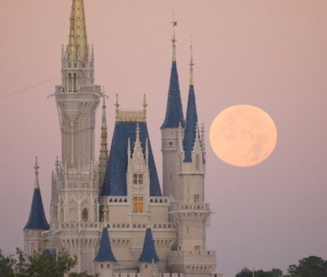 The Four Main Parks At Disney World In Florida