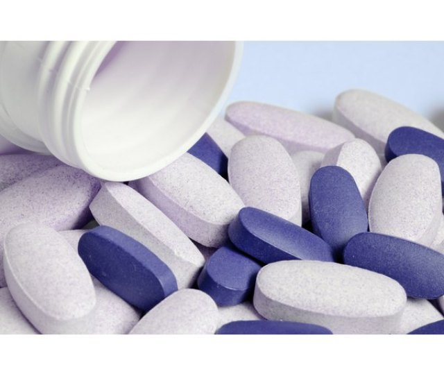 Close Up Of Supplement Pills To Relieve Acid Reflux