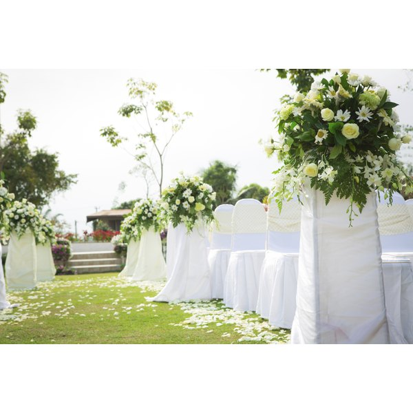 how to tie a slip knot chair sash high back patio cushions canada attach flowers for wedding | our everyday life