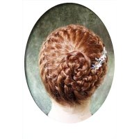 How to French Braid Short Hair