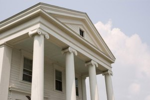What Is a Pediment   HomeSteady