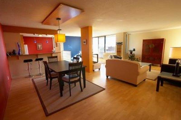 open floor plan furniture