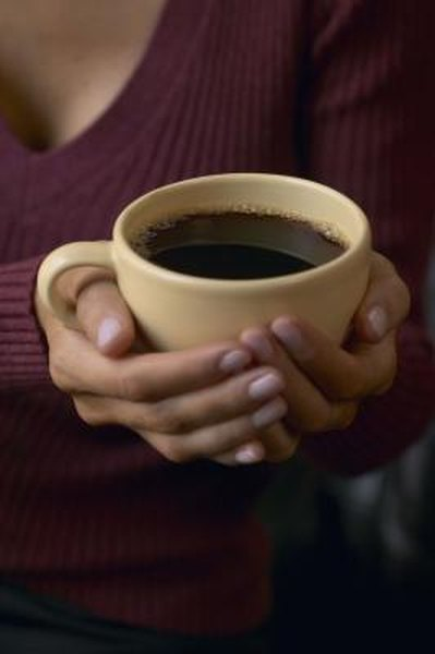 Healthy Benefits Of Coffee Woman