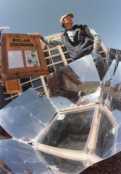 Inner Tube Solar Oven