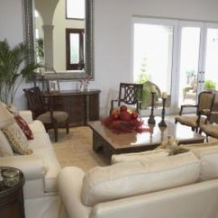 Mixing Leather And Fabric Furniture In Living Room Dining Color Schemes How To Decorate With Sofas Chairs Home Guides
