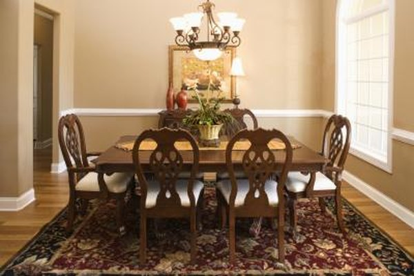 how to install chair rail dining room covers made order molding home guides sf gate