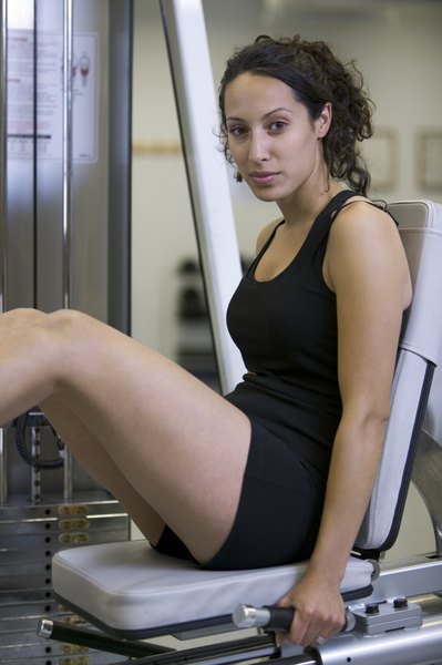 What Muscles Does The Leg Press Work Woman