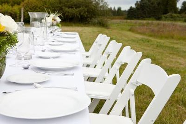 how to make a chair cover for wedding identify antique dining styles self tie home guides sf gate