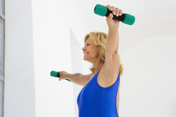What Muscles Do Dumbbell Lateral Raises Work Woman