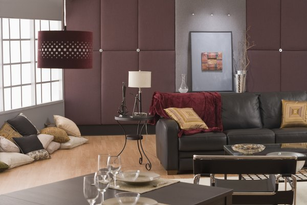 How to Decorate a Modern CharcoalGray Sofa  Home Guides