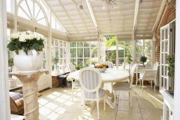 sunroom living room blinds for windows how to convert a space home guides sf gate