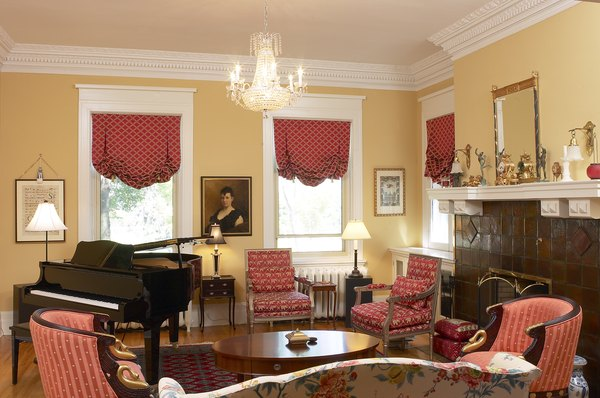 Where to Hang Drapes in a Window With Wide Molding