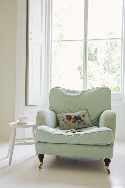 one sofa living room ideas leather chairs for upholstery two home guides sf gate there are a multitude of variations to choose from when upholstering club and in
