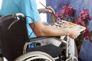 Art therapy allows those who are disabled to have a voice.