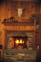 How to Build a Non-Combustible Fireplace Surround | eHow