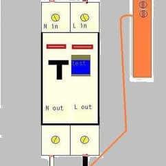 Hager Rcbo Wiring Diagram Maytag Neptune Dryer How To Wire An With Pictures Ehow Different Type