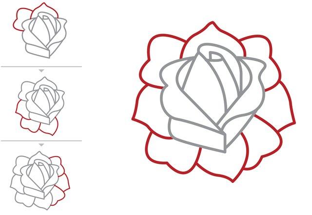 Tattoo Drawings Roses
