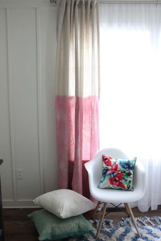 Brighten Up Any Room With Dyed Curtains