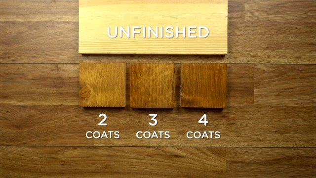 How Many Coats Of Stain