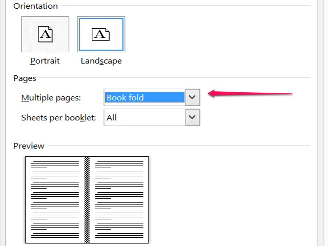 How to Create a Booklet in Microsoft Word (with Pictures