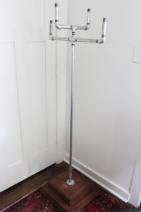 How to Build a Freestanding Coat Rack