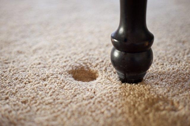 How to Get Furniture Indentation Marks Out of Carpet