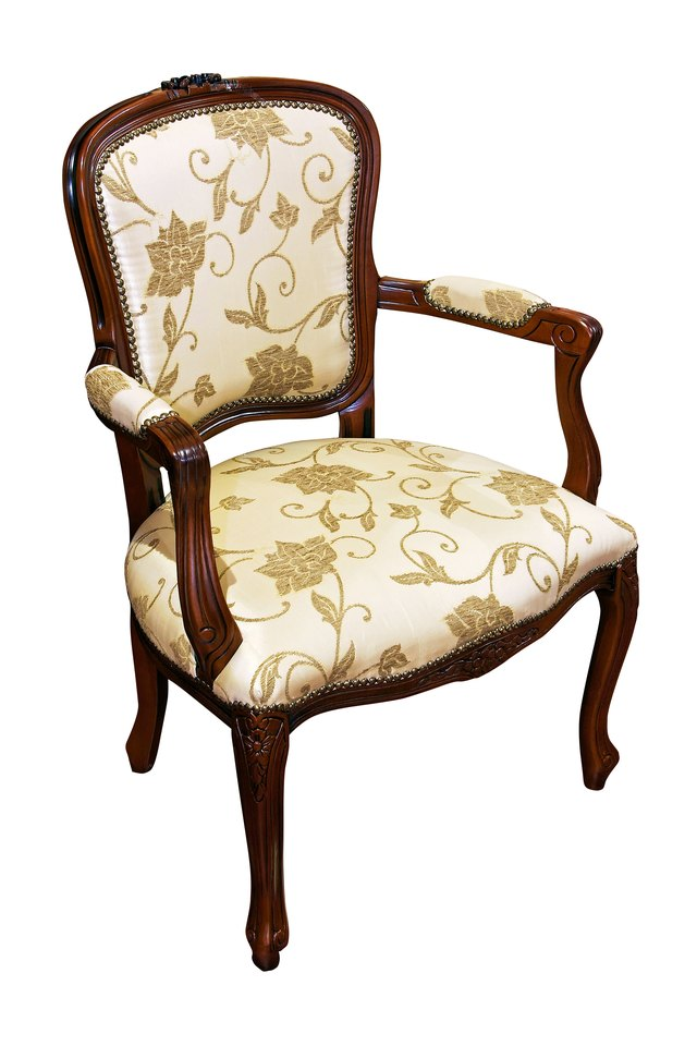 how much fabric to cover a chair cushion round accent chairs calculate yardage reupholster dining room ehow in most cases 1 5 yards of will