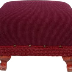 How To Recover A Sofa Without Sewing Ashley Nolana An Ottoman Ehow Tired Old No Required