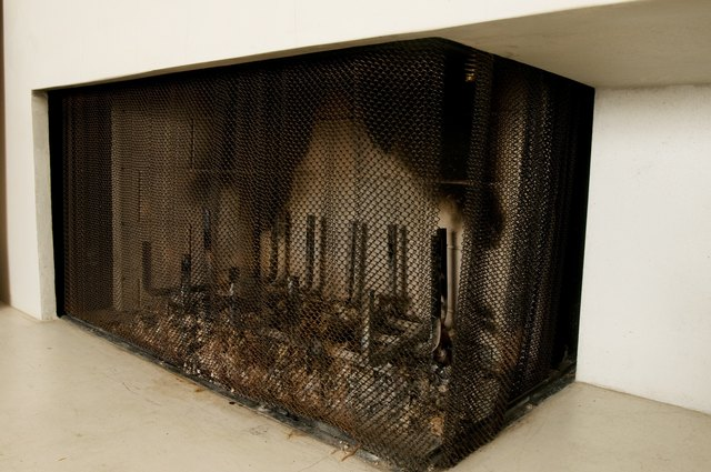 How To Remove Paint From Cast Iron Fireplace