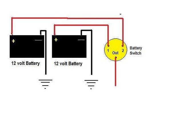 Marine Battery Switch Battery Switch Wiring Diagram