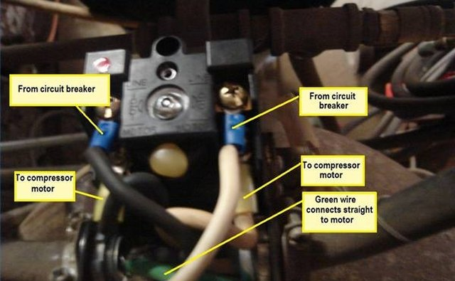 220 breaker box wiring diagram sony drive 5 car stereo how to wire a air compressor | it still runs
