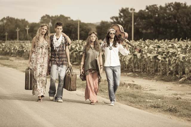 the history of hippie
