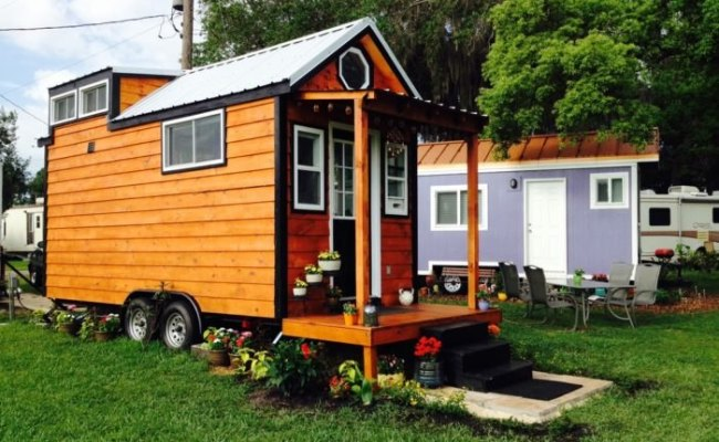 The Lakeside Tiny House Community Is The Perfect Vacation