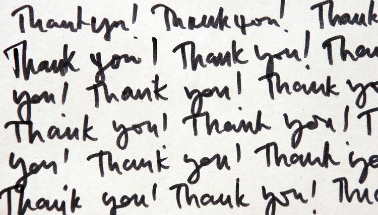 How to Write Thank-You Letters to College Admissions