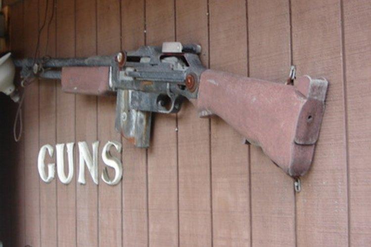 Refinish Gun Stock With Tung Oil