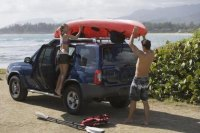 How to Make a Homemade Roof Rack Kayak Roller Carrier ...