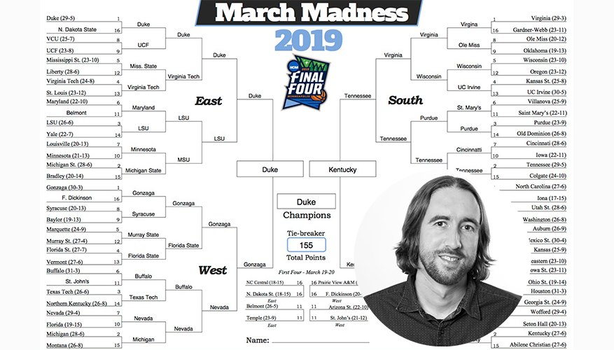 My March Madness Bracket is Busted. But so is Pretty Much