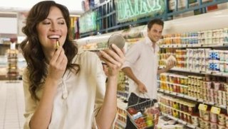 Image result for grocery store flirting
