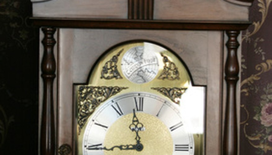 Grandfather Clock Face Diagram