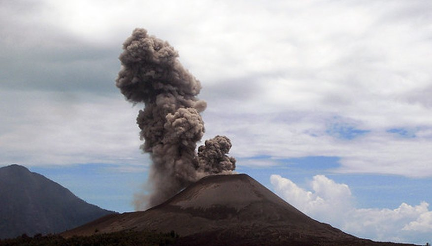 Background Information For A Volcano Science Project Sciencing